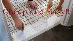 Rustoleum Tile Transformation! (Laundry Renovation Part 4)