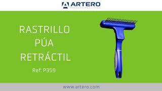 Artero Rastrillo para Pelo de muda con p/úa retr/áctil