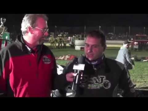 Highlights from the Sept. 19, 2019 World of Outlaws Feature held at Stateline Speedway located in Busti N.Y. The winner was Max Blair. - dirt track racing video image