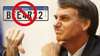 BOLSONARO VAI ACABAR COM AS PLACAS DO MERCOSUL