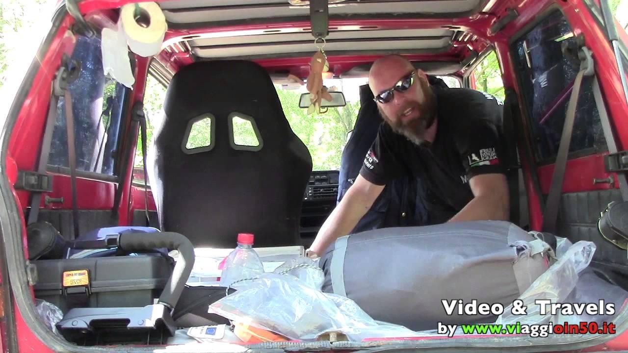 Panda 4x4 il mio allestimento da viaggio youtube for Panda 4x4 youtube