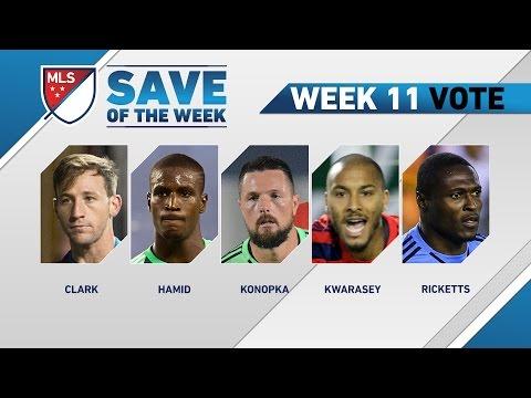 Top 5 MLS Saves | Save of the Week (Wk 11)