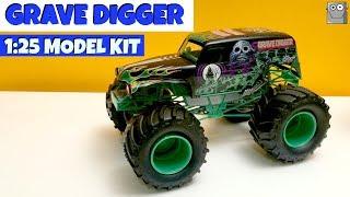 GRAVE DIGGER Model Set