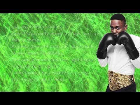 Kendrick Lamar - Rigamortis - Lyrics