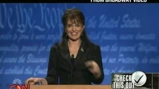 Sarah Palin's Reaction to the Latest Tina Fey Imitation