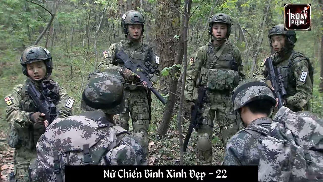4 Nữ Chiến Binh Đặc Công Cận Chiến Chơi Khô Máu Với Nam Đặc Công Lữ Đoàn Mũi Tên Đỏ | Nữ Chiến Binh
