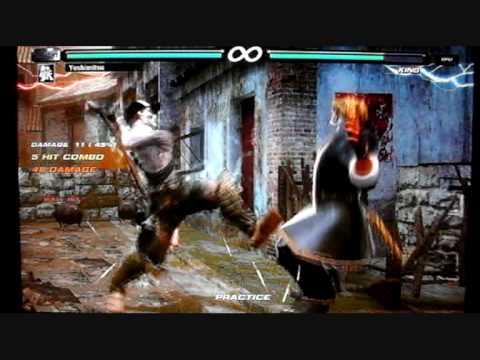Tekken 6 Br Yoshimitsu Combo Movie Youtube