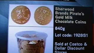 Chocolate Coin Recall - Melamin Poison