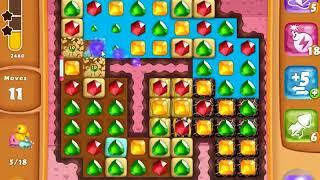 Diamond Digger Saga Level 1485 - NO BOOSTERS   SKILLGAMING ✔️