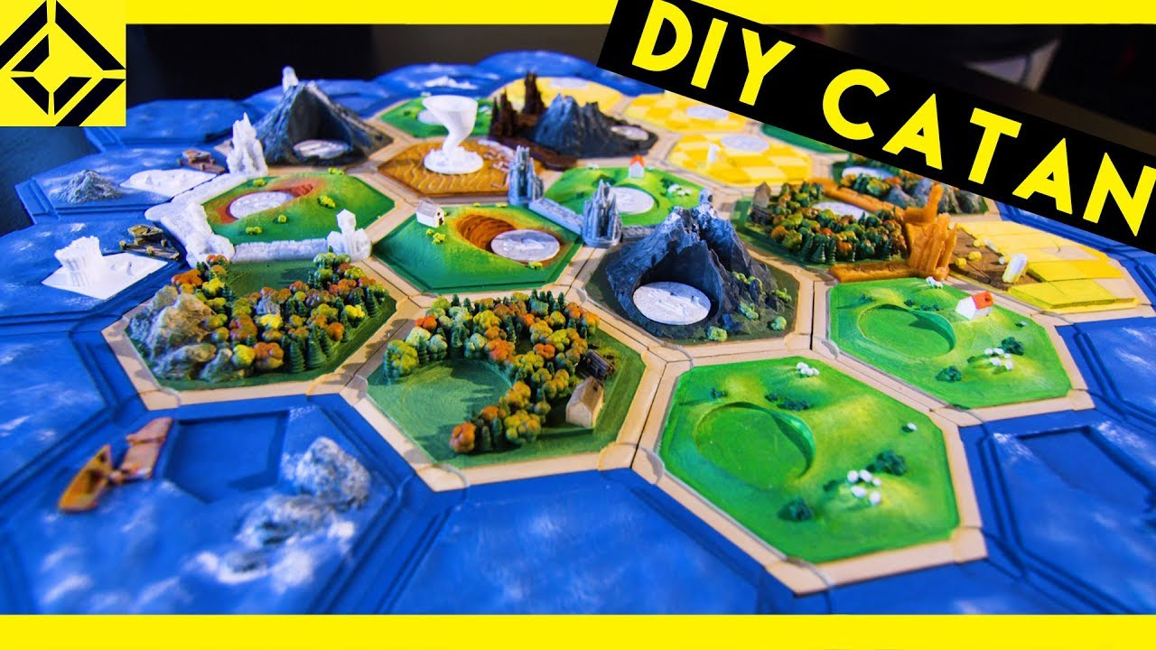 photograph regarding Settlers of Catan Printable called I Accomplished My 3D-Revealed Settlers of Catan Fixed!