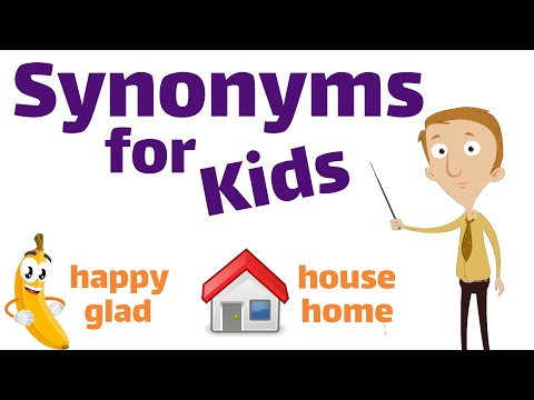Synonyms for Kids | Classroom Edition