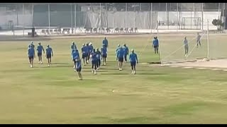 South Africa's cricket squad practice in Karachi for first Pakistan tour since 2007