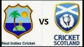 LIVE WEST INDIES VS SCOTLAND World Cricket Championship 2 JOIN FAST Video