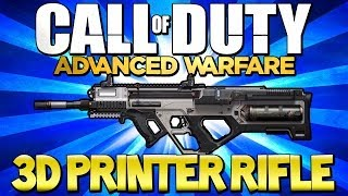 "Call of Duty: Advanced Warfare - ""3D PRINTER RIFLE"" Multiplayer Weapons (COD AW)"