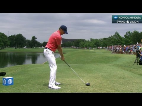 Jordan Spieth's slo-mo swing is analyzed at AT&T Byron Nelson