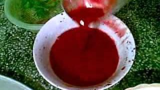 Cách đánh tiết canh vịt