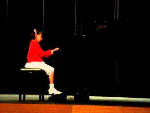 Nina 2008 GC Estford Piano Competition - 8 yrs old