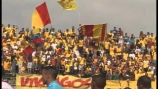 Himno del Estado Aragua en el juego del Aragua FC