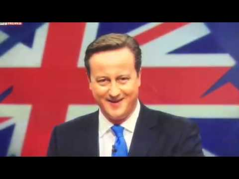 General Election 2015 starring David Cameron, Nick Clegg, Ed Miliband and Nigel Farage. Singing