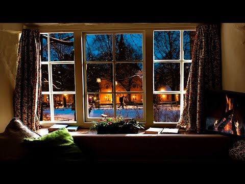 Beautiful Relaxing music, Peaceful Instrumental music 'December Fireside' Happy 2019