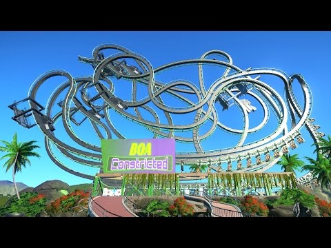 BOA CONSTRICTED! - PLANET COASTER #21