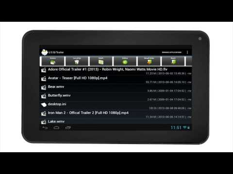 RCA Tablets | USB Drive and SD Operation On Your RCA Tablet