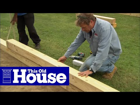 How to build a wheelchair accessible raised garden bed for Building a wheelchair accessible home