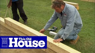 How To Build A Wheelchair Accessible Raised Garden Bed - This Old House