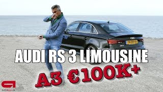 Audi RS 3 Sedan rijtest