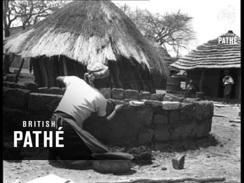 Joshua Nkomo Settles In Village - Bulawayo (1962)