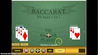 baccarat a failsafe method to win money