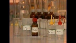 взаимодействие воды с маслом и хлорида бария с серной кислотой