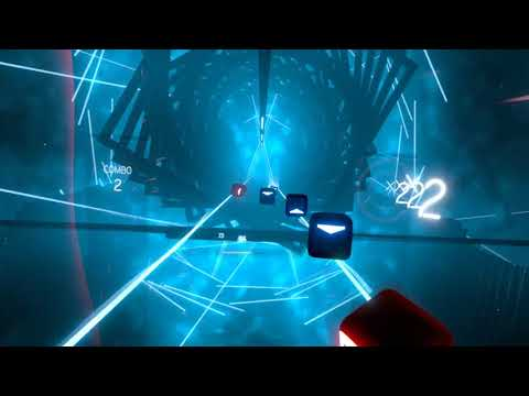 Beat Saber - Pirates of the Caribbean - He's a Pirate (First Try)