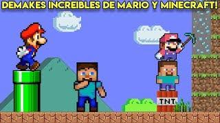 Los Demakes más INCREÍBLES de Super Mario Bros y Minecraft - Pepe el Mago