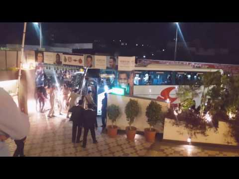 IPL 10 RAISING PUNE SUPERGIANTS TEAM ARRIVED AT ITC FORTUNE RAJKOT