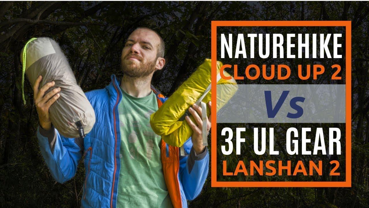 NatureHike Cloud Up 2 vs 3F UL Gear Lanshan 2: setup e recensione | The Walking Robin