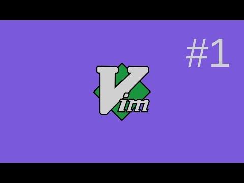 Vim Tutorial - Part1 - The Vim Basics I Use