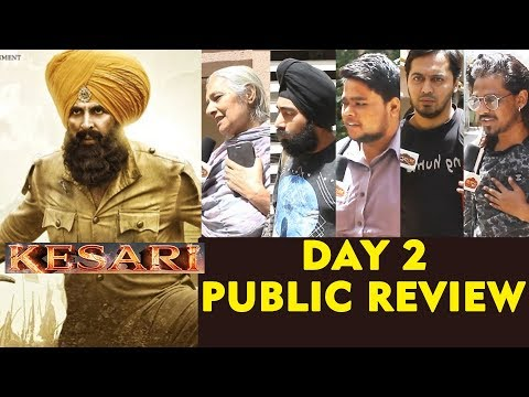 KESARI PUBLIC REVIEW | DAY 2 | Akshay Kumar का बड़ा धमाका | HOUSEFULL Theatre