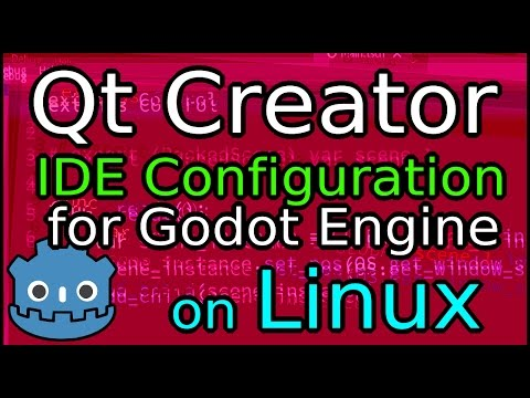 Qt Creator IDE Configuration for Godot Engine on Linux