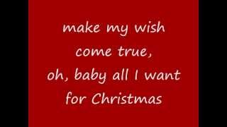 Mariah Carey - All I Want For Christmas Is You (lyrics on screen)