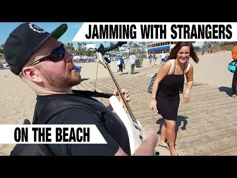 Jamming with Strangers On The Beach | GEAR GODS