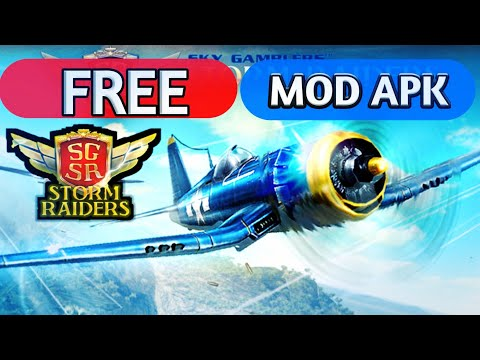 Sky Gamblers Storm Download Free Mod Apk + Data Android 2019 | Airplanes Arcade Game Android 2019
