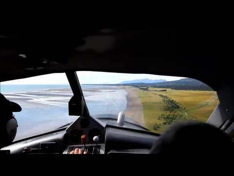 Landing at Silver Salmon Creek Lodge in Alaska (August 20, 2012)