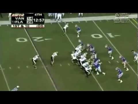 2005 #13 Florida Gators vs. Vanderbilt Commodores