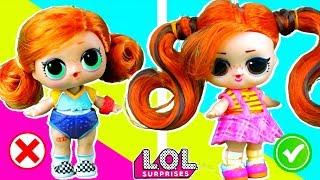 скейти В ШОКЕ! У нее появился двойник  красавица Маша! Мультик куклы ЛОЛ сюрприз. Сериал LOL dolls