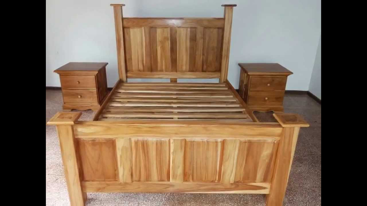 Gratis cama de teca al comprar tu casa prestige panama Muebles de teca interior