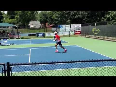 Roberto Quiroz vs. Marc Polmans - first set