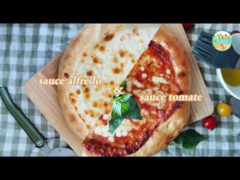 """2-délicieuse-sauces-pour-""""pizza"""":-sauce-alfredo-&-sauce-tomate---""""fait-maison"""""""