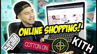 ONLINE STREETWEAR SHOPPING! WHAT DID I BUY?!