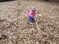落ち葉の掃除 の動画、YouTube動画。